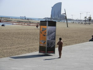 Photo of Minister Luis' adventures in Barcelona