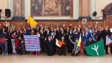Photo of Ladonia in London Micronation Conference