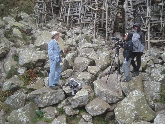 Queen Carolyn and Minister of Art & Jump interviewed for documentary about Ladonia