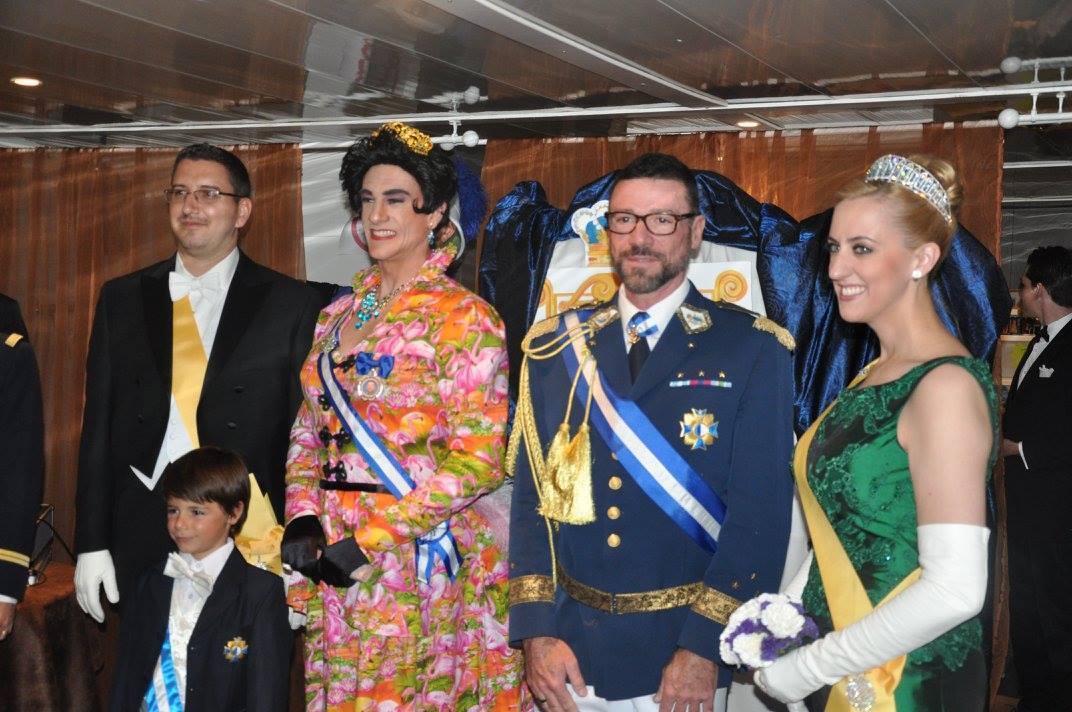 Queen of Ladonia conducts state visit to Aigues-Mortes