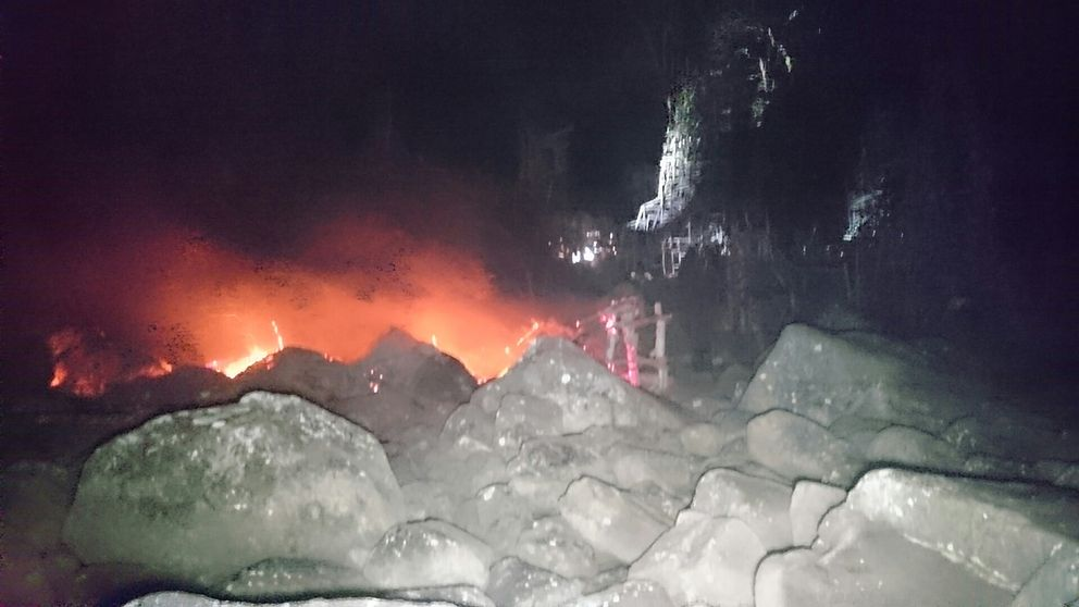 Photo of Arson destroys Tower of the Winds, burns one quarter of Nimis