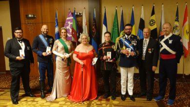 Photo of Ladonia delegation presents at Microcon 2019